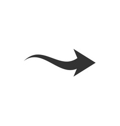 Arrow clip art graphic design template vector