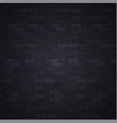 black wall 1 vector image vector image