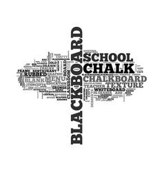 Blackboard word cloud concept vector