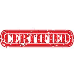 Certified label vector
