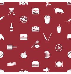 Hamburger theme modern simple icons seamless vector