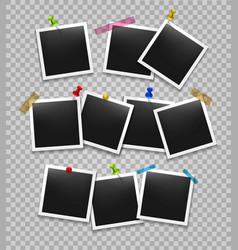 office photo frames organize vector image