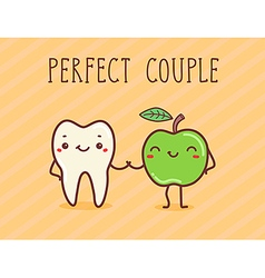 Perfect couple vector image