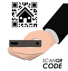 Scan QR Code design vector image