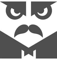 User avatar old fashioned gentleman vector