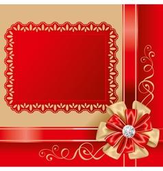 gift box top vector image