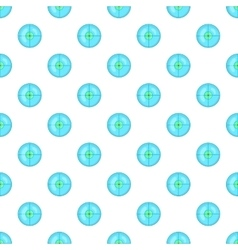 Optical sight pattern cartoon style vector image vector image