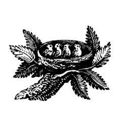 little birds vector image vector image