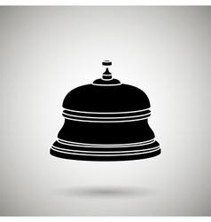 hotel bell design vector image