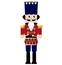 Cute retro Nutcracker vector image