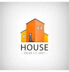 house logo real estate vector image