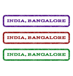 india bangalore watermark stamp vector image
