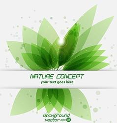 leaf concept 2 vector image