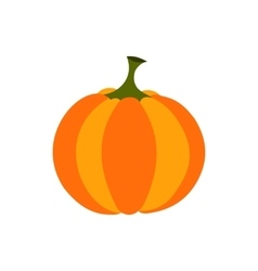Pumpkin icon flat vector