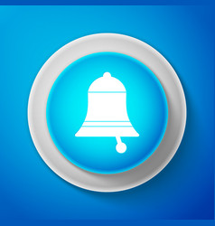 ringing bell icon alarm symbol service bell vector image