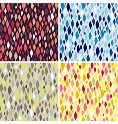 colorful tiles abstract seamless pattern vector image vector image