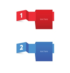 tag label color vector image vector image