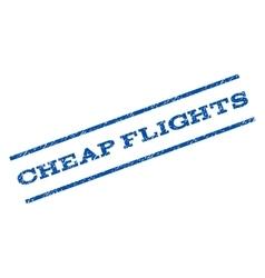 Cheap Flights Watermark Stamp vector