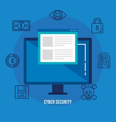 Data center security with desktop vector
