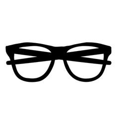 glasses icon vector image