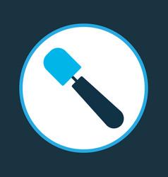 Spatula icon colored symbol premium quality vector