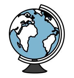 World planet supply school vector