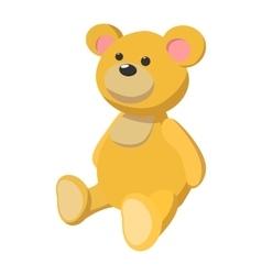 Brown bear cartoon icon vector image