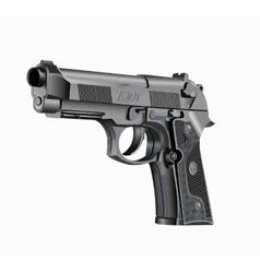 Handgun beretta elite vector