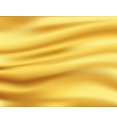 Yellow waves background vector image vector image