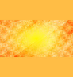 abstract yellow and orange gradient color oblique vector image