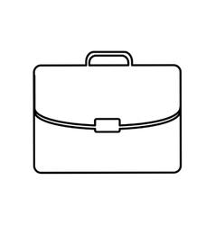 Business briefcase pictogram icon vector