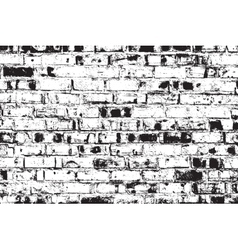 Distressed Brick Wall vector image