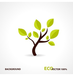 Eco Tech Design vector image vector image