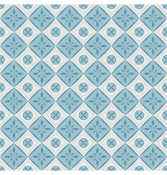 Seamless pattern with geometric diamond shapes vector image vector image