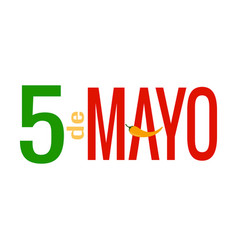 5 of may background vector image
