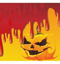 Bloody Jack O Lantern vector