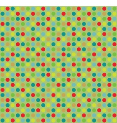 Color Dots Pattern vector image