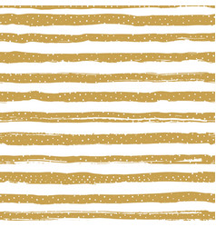 Golden striped seamless pattern confetti or vector
