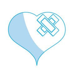 Heart medical symbol vector