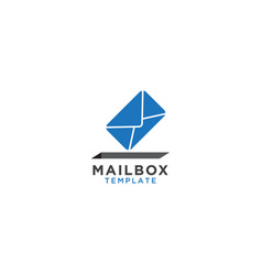 mailbox graphic design template vector image