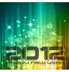 2012 new year celebration vector