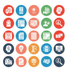 business trade icon editable vector image