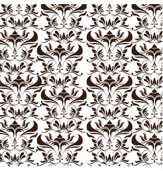 Elegant decoration ornate swash design wallpaper vector