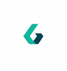 Gb logo simple vector