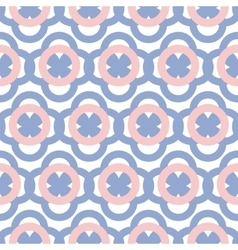 Geometric seamless pattern in pantone color of the vector image