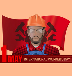 International workers day design 1 may vector
