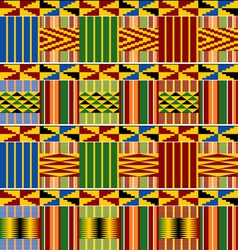 Ornament Kenya seamless vs vector
