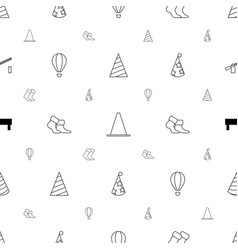 Striped icons pattern seamless white background vector