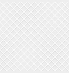 rhombus white seamless pattern vector image vector image