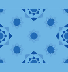 Elegant ornaments geometric mandala vector